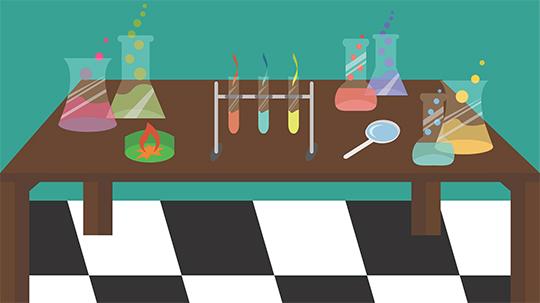 Chemielabor – Inhaltsstoffe
