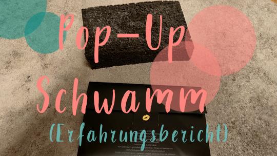 Pop-Up Schwamm (Erfahrungsbericht)